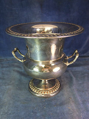 Vintage Campagna Silver Plate Champagne Cooler - Mid 20th C [4051]