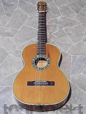 great 3/4 Classic guitar all solid Herrnsdorf ? Marma ? vintage guitar Germany