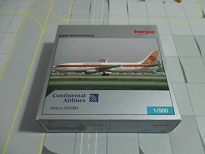 Herpa Wings  514378 Continental Airlines A300B4