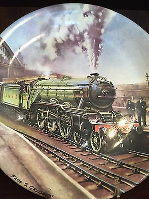Davenport Pottery - Great Steam Trains collectable plates: The Flying Scotsman