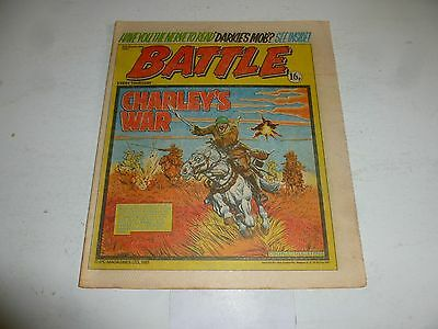 BATTLE Comic - Date 05/09/1981 - UK Paper Comic