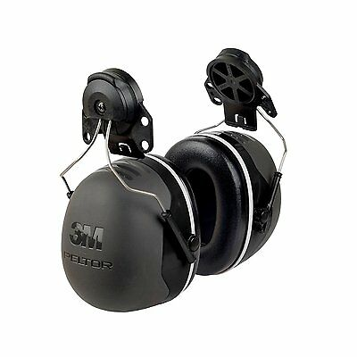 Hearing Protection Cap Mount Earmuffs Hard Hat Ear Muffs 31dB Noise Reduction