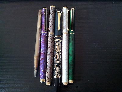 L'Plume Writing Implements (Group of Six Items)