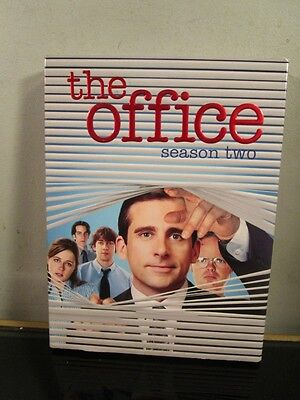 The Office: Season 2 Steve Carell, John Krasinski, Jenna Fischer, Rainn Wilson~