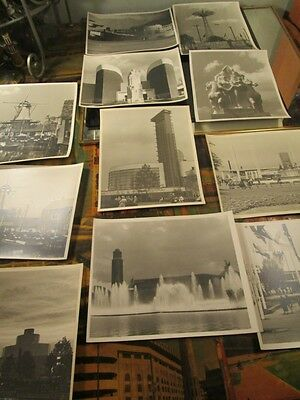 Vintage Lot Photos World's Fair~ ORIGINAL PHOTOGRAPHS ~ 1oak~ rare