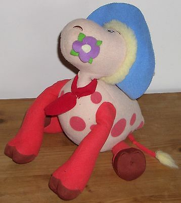 """THE MAGIC ROUNDABOUT 2004 12"""" TALKING ERMINTRUDE The COW PLUSH SOFT TOY"""