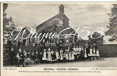 Dugnall School Church with Pupils, Edlesborough.