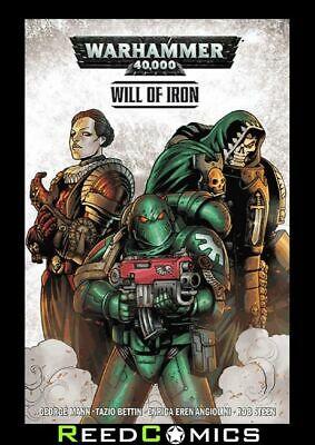 WARHAMMER 40000 VOLUME 1 WILL OF IRON GRAPHIC NOVEL Collect Warhammer 40,000 1-4