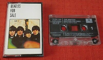 The Beatles - Uk Cassette Tape - Beatles For Sale - 1992 Xdr Issue