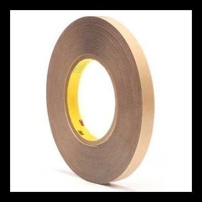 3M 9485PC 1/2 and quot; Width x 60yd Adhesive Transfer Tape Acrylic 5 Mil