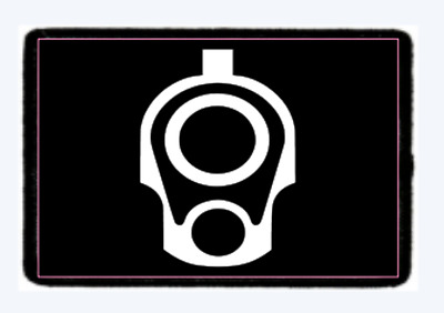 1911 Muzzle Morale Patch Tactical Hook And Loop. American Seller