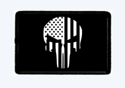 Punisher Flag  Morale Patch Tactical Hook And Loop. American Seller