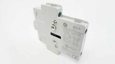 GE BCLL11 10A Auxiliary Contact Base Block 1NO/1NC (2/pkg)