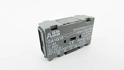 ABB OA1G10 1/pkg 600 16 to 100A 600V Auxiliary Contact Switch