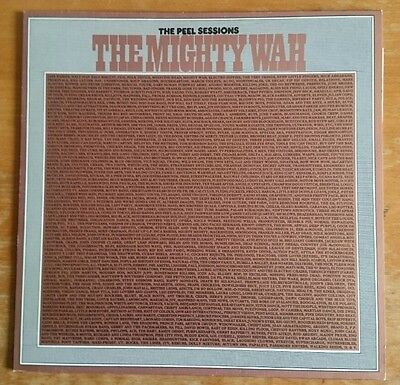 "THE MIGHTY WAH The Peel Sessions  1987 UK 12"" vinyl EP EXCELLENT CONDITION"