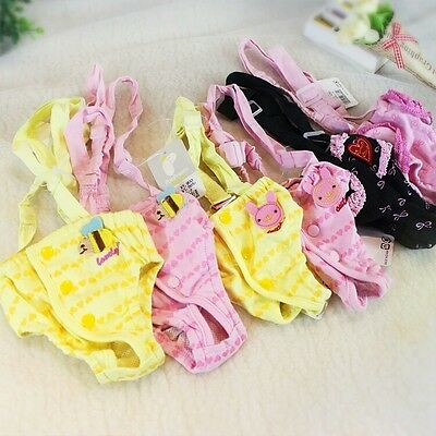 DOG SEASON PANTS PERIOD HEAT MATING PROTECTION TEACUP TINY TRAINING dunagree