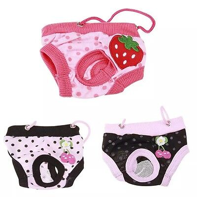 DOG SEASON PANTS PERIOD HEAT MATING PROTECTION TEACUP TINY TRAINING xxs puppy