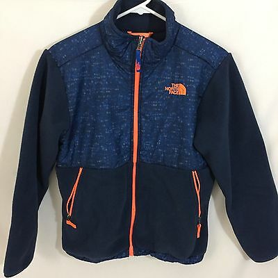 THE NORTH FACE Blue Fleece Jacket Boy's Youth Size Large 14/16