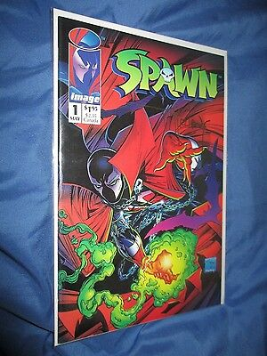 SPAWN #1 Signed Comic by Todd McFarlane ~Violator/Movie