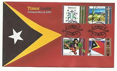 East Timor 2002 Independence FDC