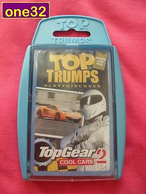 Top Trumps Bbc Top Gear 2 Cool Cars Card Game New In Pack