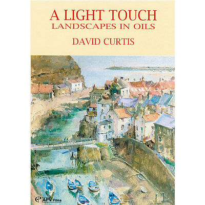 DVD : A Light Touch Landscape in Oils : David Curtis