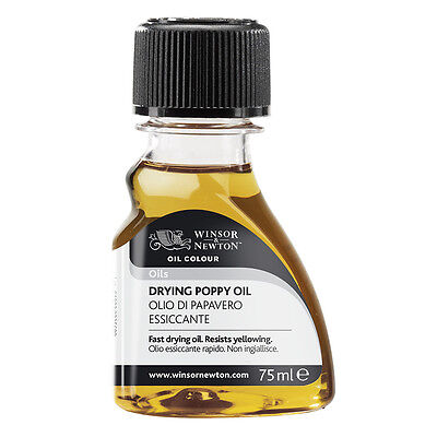 Winsor & Newton : Drying Poppy Oil : 75ml