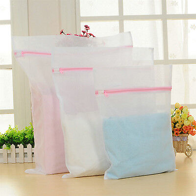 CH 3 Size Underwear Aid Bra Socks Lingerie Laundry Washing Machine Net Mesh Bag