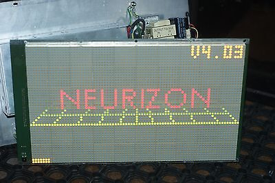 NEURIZON Display 80 x 48 3 Colour LED Display Board Electronic Programmable Sign