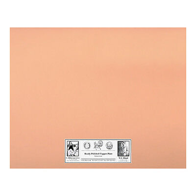 Roberson : Polished Copper Etching Plate : 250x200x1.2mm