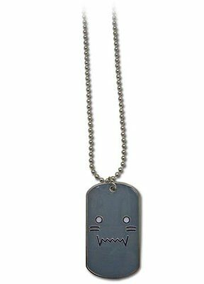 Fullmetal Alchemist Brotherhood Al Elric Dog Tag on Ball Chain Official Necklace