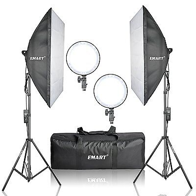 Emart Professional 252 Ultra High Powered Super Adjustable Bright LED Softbox 2