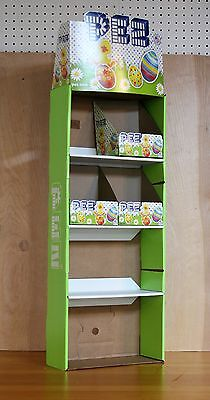PEZ cardboard EASTER DISPLAY case WITH BOXES empty display EX