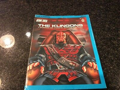 The Klingons a sourcebook and character generation supplement STAR TREK