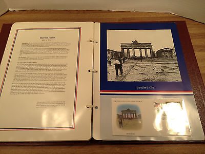 WORLD WAR II VICTORY COLLECTION  1980 First day covers + History