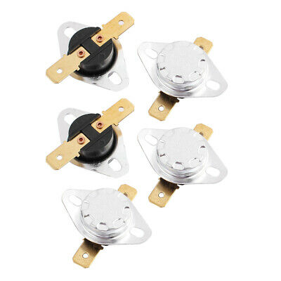 5 Pcs KSD301 AC 250V 10A 90C Thermostat Temperature Thermal Control Switch