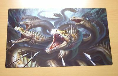 F1733 Free Mat Bag Fantasy Dragon Hydra Custom Playmat Yugioh MTG Vanguard CCG