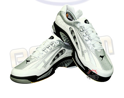 ABS Kangaroo Leather NV-4 Premium Bowling Shoes White Accessary Pack Authentic
