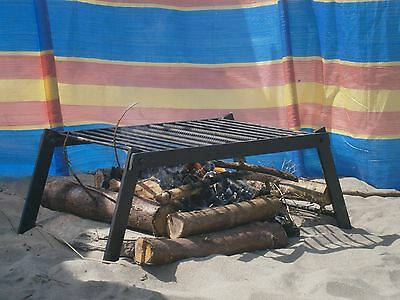 Allan Campfire Grill -  Heavy Duty Solid Painted Steel