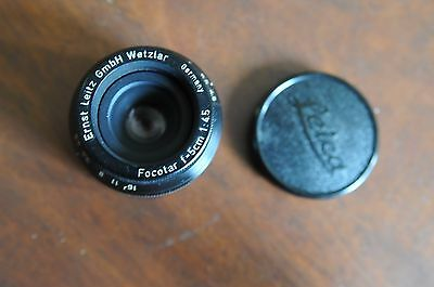 Leica 50mm f4.5 Focotar enlarging lens 39mm thread