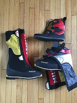 Millet Everest Summit GTX 8000m Mountaineering Boots. Size EUR 49. Unused.