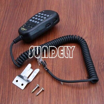 For Yaesu Vertex Mobile Radio DTMF Hand held Shoulder Mic Key  FT-8100R MH-36