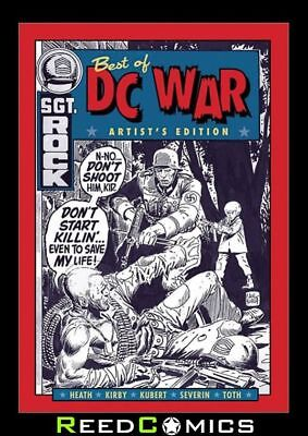 BEST OF DC WAR ARTIST EDITION HARDCOVER *New Boxed Sealed*