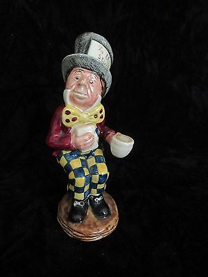ROYAL DOULTON BESWICK Alice in Wonderland Mad Hatter Figurine