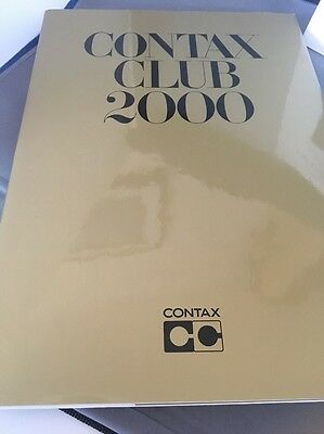 Contax Club 2000 Book + Free Postage Uk + Mint Condition
