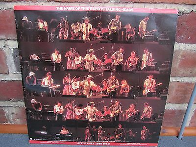 Talking Heads - The Name Of This Band Is Talking Heads Double Vinyl Album