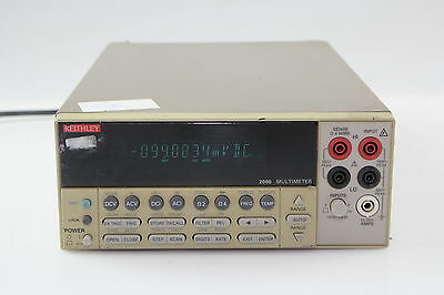 KEITHLEY 2000 MULTIMETER working #2