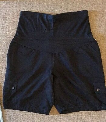 Ladies Black Emerson Maternity Shorts Size 12