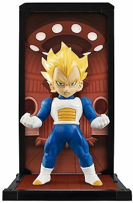 Tamashii Buddies Dragon Ball Z 002 SS Super Saiyan Vegeta Mini Statue Bandai NIB