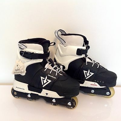 +++ Rollerblade TRS junior inline agressif RÉGLABLE Patins Tailles 2-5 +++